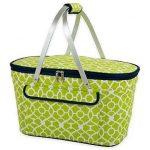 Lime Green Picnic Basket