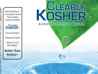 Clearly Kosher Water