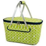Lime Green Picnic Basket